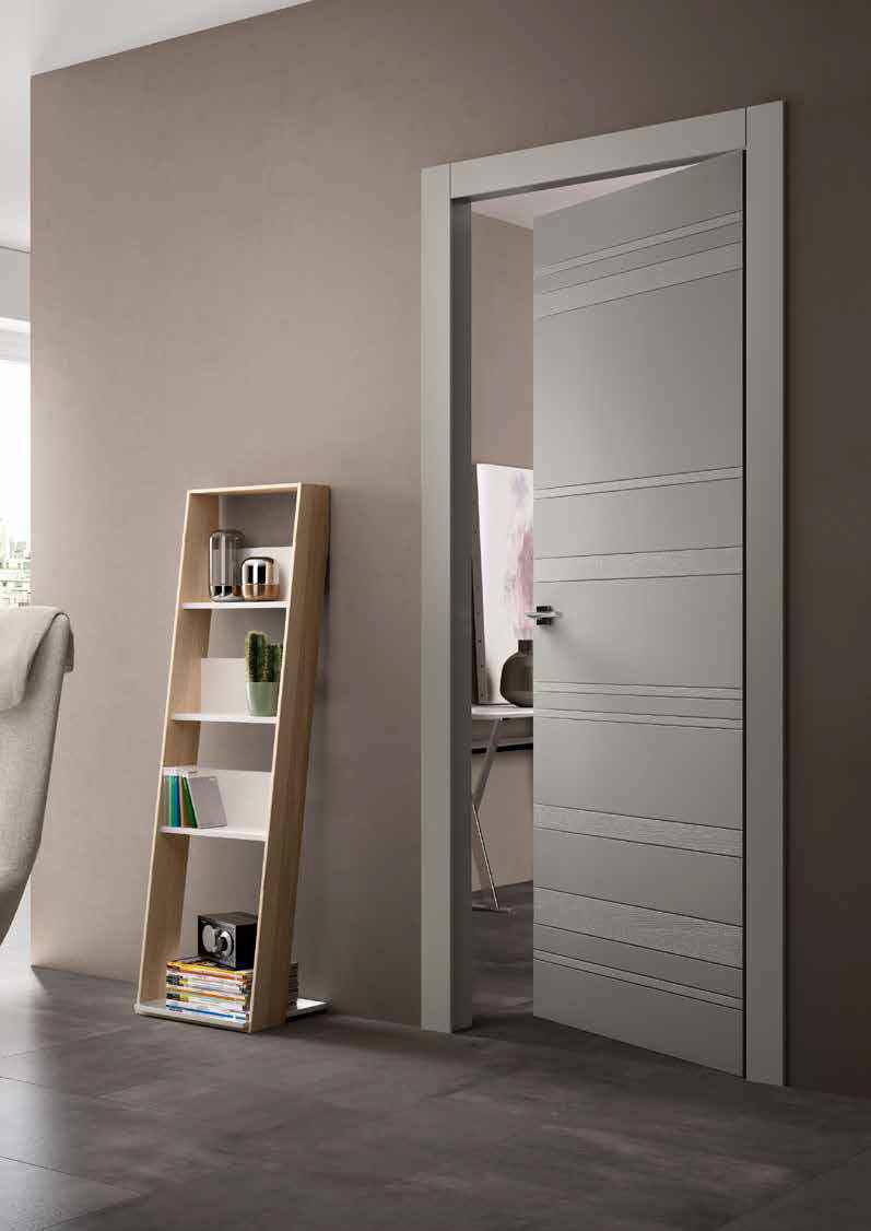 Porta A Libro Asimmetrica porte interne a crema e lodi | porte e finestre